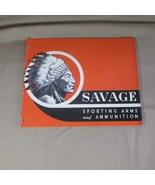 Original 1939 Savage Sporting Arms and Ammunition Catalog. - $34.52