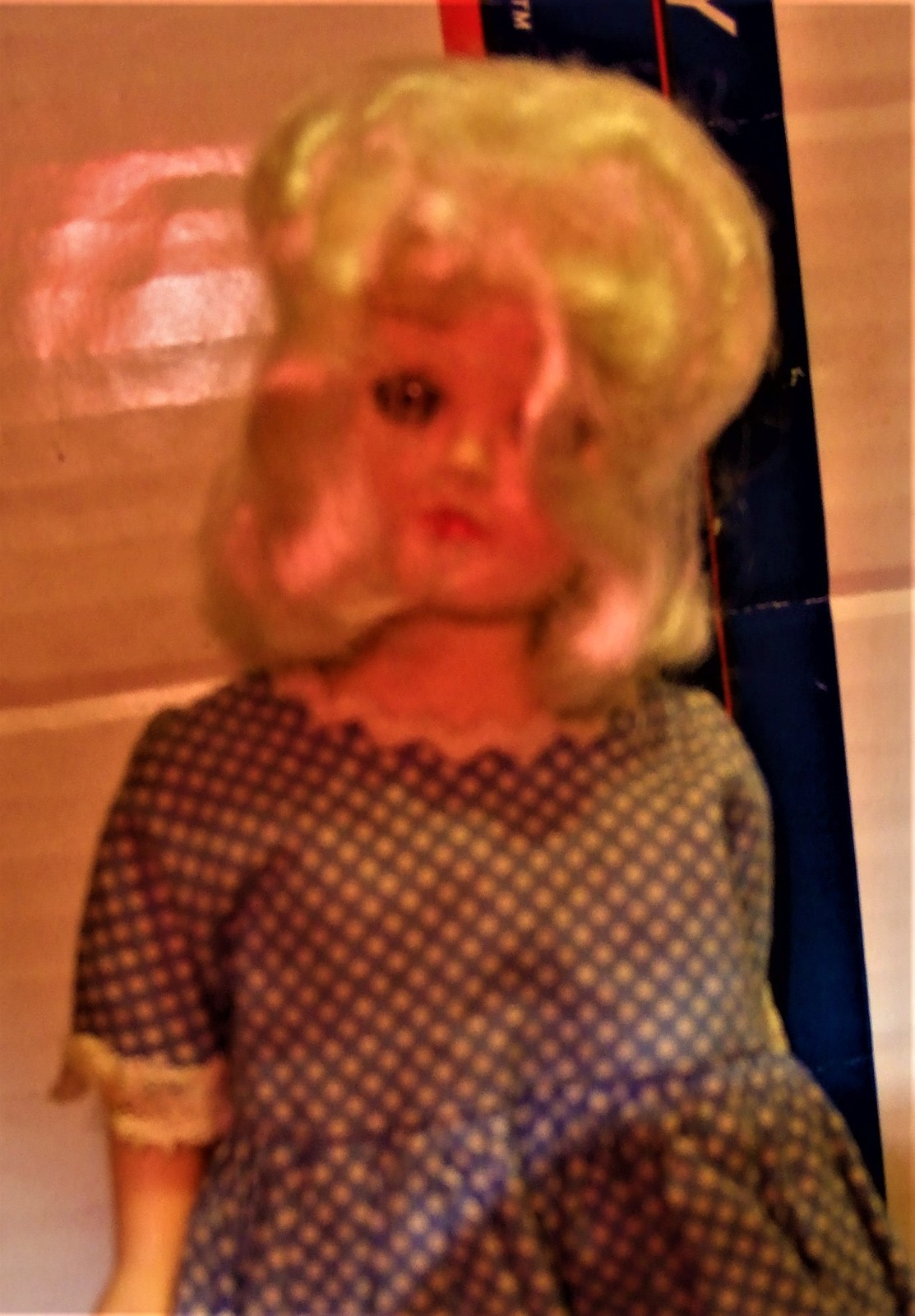 Primary image for Doll - Vintage 1950's Plastic Doll