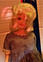 Doll - Vintage 1950's Plastic Doll - $7.00