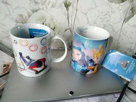 New Great  2 Olympics Souvenir Cup Sochi 2014-Look!!! - $68.31