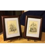 Framed Slovakian Prints (2) - $28.04