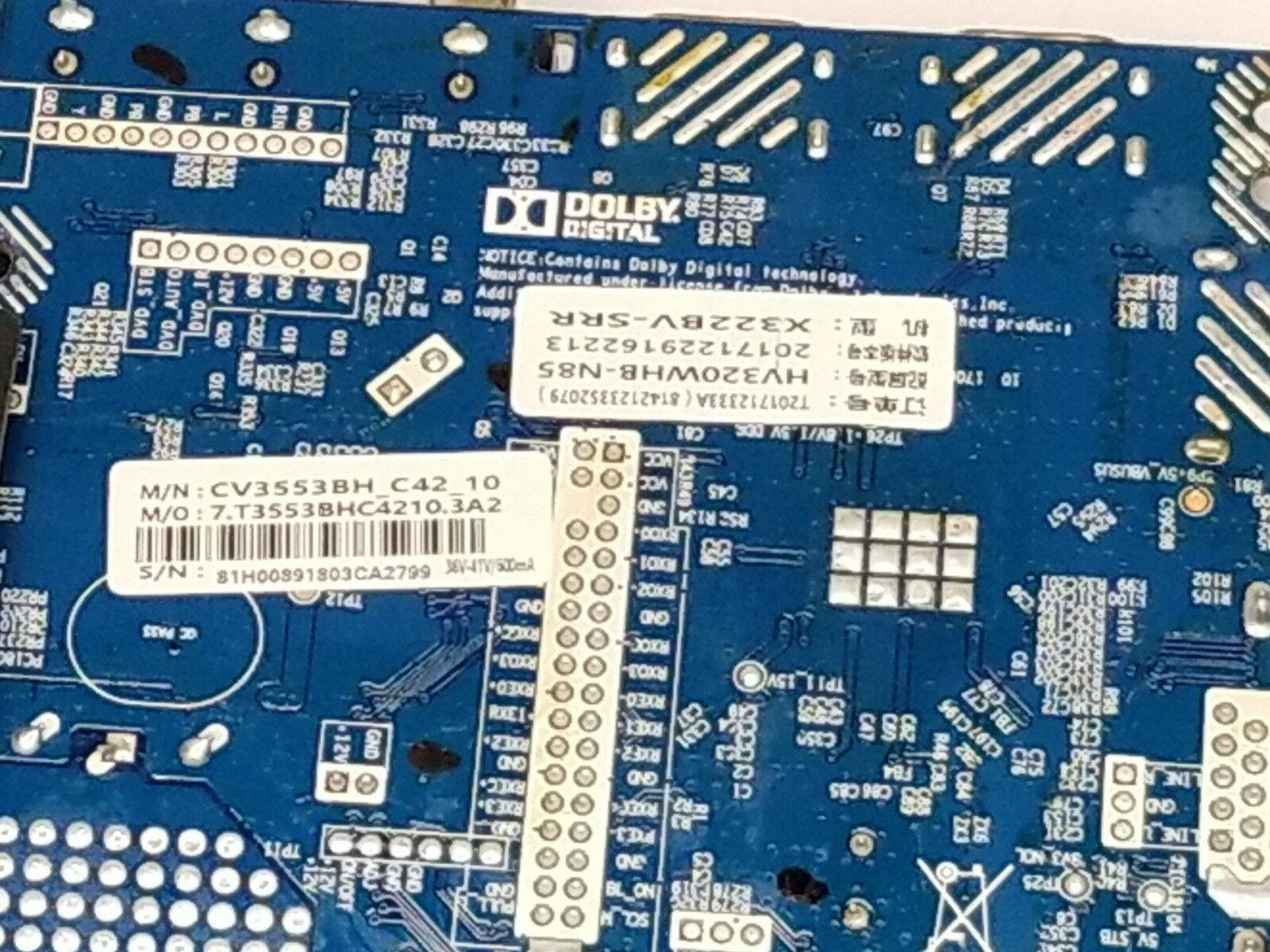 Sceptre Led Lcd Tv MAIN/POWER Supply Board and 12 similar items