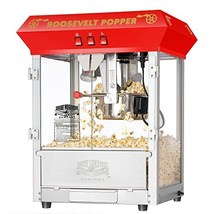 6010 Great Northern Red 8oz Roosevelt Antique Countertop Style Popcorn P... - $277.94