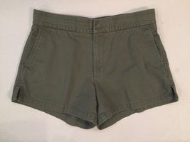 J Crew 3.5 Inch Chino Cotton Shorts-Olive Green-SZ small S - $14.99