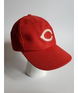 VTG Cincinnati Reds Baseball Hat  ONE SIZE FITS MOST EARLY 80's Cap RARE - $25.74