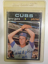 1971 Topps #203 Larry Gura Chicago Cubs RC Rookie Baseball Card ~ NM - $2.22