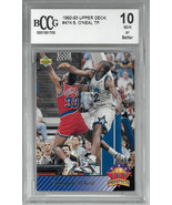 Shaquille O'Neal 1992-93 Upper Deck Rookie Card (RC) #474- BCCG Graded 1... - $58.95