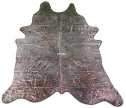 Copper Metallic Cowhide Rug Size: 9' X 7.5' **GIANT** Copper Metallic M-221 - $310.96