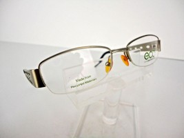 Earth Conscious Optics (ECO) Mod 1043 (SIL) Silver 53  x 18   Eyeglass F... - $19.75