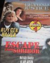 Beyond Justice / Escape from Sobibor Dvd - $10.50