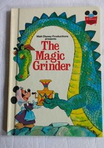 Walt Disney Productions presents The Magic Grinder Hardcover Book 1975 - $8.59