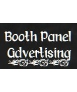 Booth panel advertising 133 x 80 thumbtall