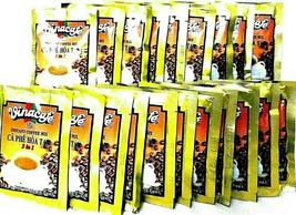 Vinacafe 3-In-1 Instant Vietnamese Coffee Mix 50 Sachets x 20 g - $17.81