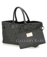 BOTTEGA VENETA Cabat MM Leather Black Intrecciato Limited Authentic 5406869 - $2,439.05