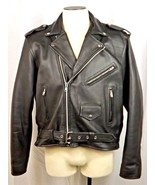 NEW American Made Naked Cowhide Leather Motorcycle Jacket Biker Brando S... - $299.00