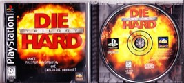 PlayStation, Die Hard Trilogy, Three Maximum Adventures, Rated M For Mature - $1.99