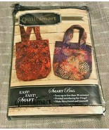QUILTSMART SMART BAG PRINTED INTERFACING PATTERN FOR TWO BAGS(#10031, FROM 2007) - $14.95