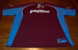 VINTAGE STYLE PHILADELPHIA PHILLIES MLB STITCHED JERSEY XL NEW w/ TAG - $54.45
