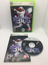 MLB The Bigs (Microsoft Xbox 360, 2007) - CIB Complete, Tested And Working! - $13.59
