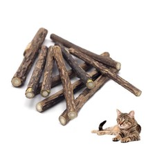 10pcs/lot Catnip Sticks Pet Cat Stick Pure Natural Cleaning Tooth Sticks... - $4.94