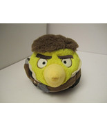 """NM PRE-OWNED 5"""" Angry Bird Star Wars Plush Han Solo Chuck Toy  - $10.00"""