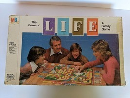 """Vintage 1981 """"The Game Of Life"""" Board Game Milton Bradley - 95% Complete - £10.46 GBP"""