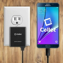 Cellet High Powered 3A 15W USB Type-C Home Charger for LG G5, Nexus 5X, ... - $13.81