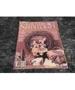 Country Needlecraft Magazine August 1987 Amish Tulip Vest - $2.99
