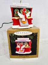 "Hallmark Keepsake Ornament 1996 Chicken Coop Chorus"" Musical Jingle Bells   - $17.58"