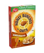 Post Honey Bunches Of Oats Breakfast Cereal, Honey Roasted, 18 Oz - $6.50