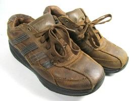 Skechers Shape Ups Distressed Brown Mens Size 8 Eur 41 - $28.13