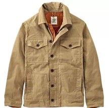 Timberland Mount Davis Timeless Jacket British Waxed A1LHA-918 Size: Med... - $89.99