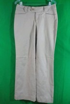 Banana Republic  beige  cotton blend Jackson  fit pants size 6 inseam 33 - $14.50