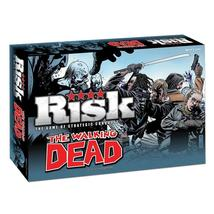The Walking Dead Risk: Survival Edition Strategic Conquest Board Game - $45.55