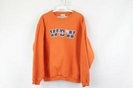 Vintage 90s Walt Disney World Mens Medium Spell Out Stitched Crewneck Sw... - $29.65