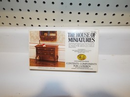1 Brand New Vintage House of Miniatures Kit for 1 Lowboy Chippendale - $8.79