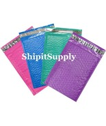 4-600 #000 4X8 Poly ( Blue Pink Purple Teal) Mix Color Bubble Mailers 1-... - $3.95+
