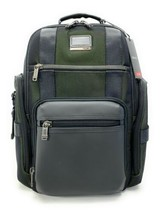 ffa3188f1 Tumi Alpha Bravo Sheppard Deluxe Laptop Brief Pack Reflective Tundra  Backpack - $470.25