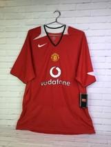 Nike Team Premier League Manchester United FC Vodafone Futbol Soccer Jer... - $96.52