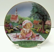 Cherished Teddies A DAY IN THE PARK Collectors Plate The Hamilton Collec... - $17.78