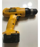 DeWalt Adjustable Clutch Cordless 3/8 VSR Drill DW953 Sold not working - $23.36