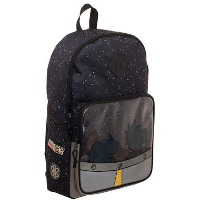 Cartoon Network Rick And Morty UFO Backpack Black