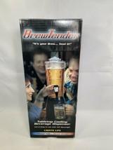 Black 80 oz Brew-Tender Beverage dispenser Ice tube for wine/juice/water... - $34.64