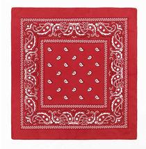"""12 Pack Premium Cotton Head Wrap Scarf Bandana Multiple Colors 22"""" X 22"""" image 10"""