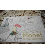 Color Your Own Monet and the Impressionists - $20.00