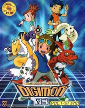 Digimon Tamers 03 Vol.1-51 End DVD English Subtitle Ship From USA