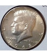 1968 Kennedy Silver Half Dollar Very Nice! - $5.75