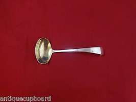 "Gorham Plain by Gorham Sterling Silver Gravy Ladle Gold Washed 6 3/4"" - $103.55"