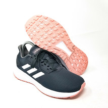 adidas Duramo 9 Running Shoe Womens sz 6.5 Grey Pink White EG8672 UK 5 E... - $59.39