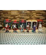 Hallmark 6 Merry Olde Santa Series 1, 2, 3, 5, 6 & 8 Ornaments - $51.99